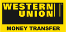 We accept Western Union payments